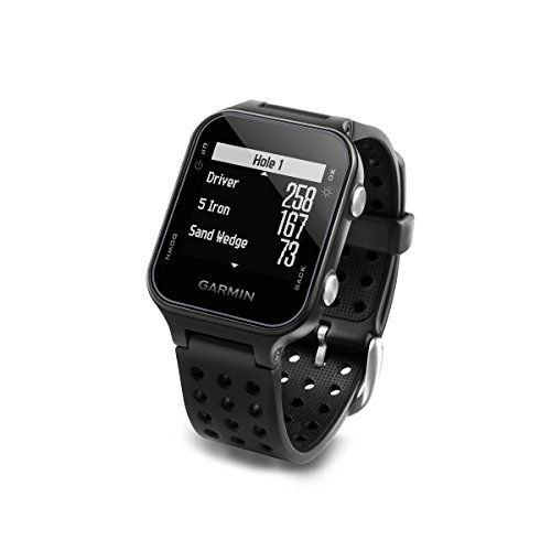 Garmin Approach S20 Golf Watch - Black (Renewed)