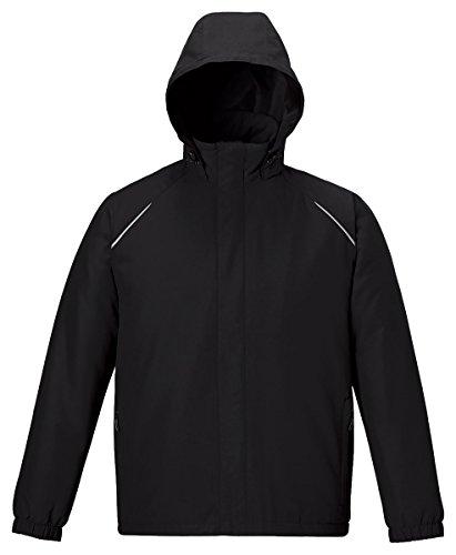 Ash City - Core 365 Mens Brisk Men'sInsulated Jackets 88189T -BLACK 703 L by Ash City