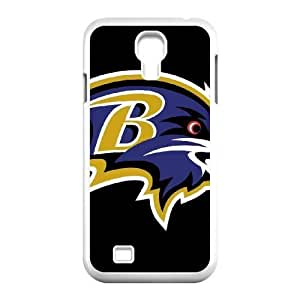 Samsung Galaxy S4 I9500 Phone Case White Baltimore Ravens VCN8573319