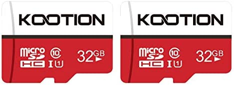 KOOTION Micro SD Card 16GB/32GB/64GB/128GB/256GB TF Card SDHC/SDXC UHS-I Memory Card - 90MB/s Carte Memoire(1/2/3/5/10...