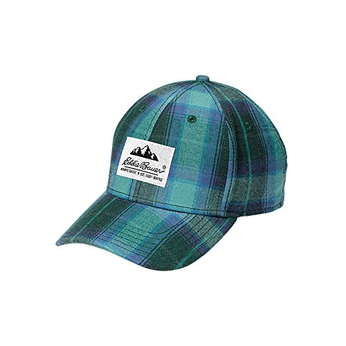 Eddie Bauer Womens Eddies Favorite Flannel Cap, Deep Ocean Regular ONESZE