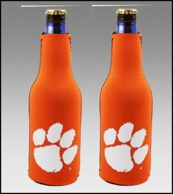 Tigers Bottle Suit (SET OF 2 CLEMSON TIGERS BOTTLE SUIT KOOZIES)
