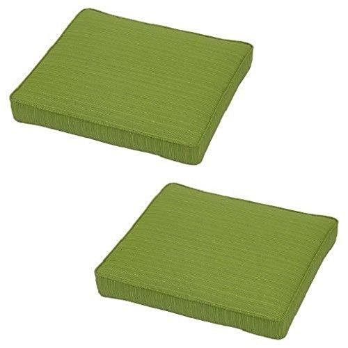 Threshold Holden Vertical Slat Chair Seat Cushion - Green