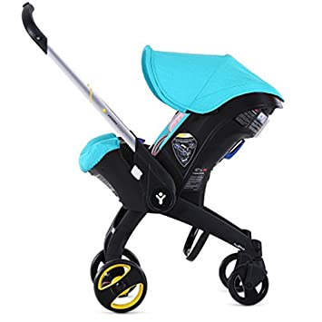 FooFoo Infant Car Seat Turquoise With Vehicle Protector Seem As Donnablue