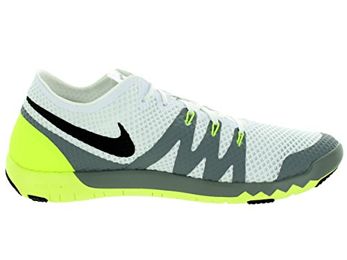 Nike Men's Free Trainer 3.0 V3 White/Black/Cool Grey Running Shoe 8.5 Men US