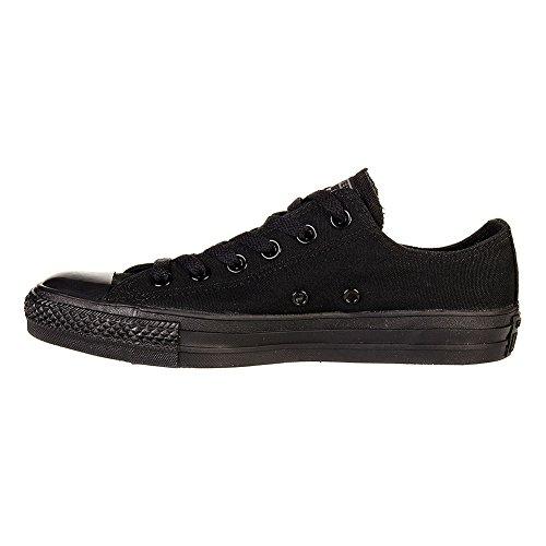 Omgekeerde Unisex Chuck Taylor All Star Lage Top Zwart Monochroom Sneakers - 10 B (m) Ons Dames / 8 D (m) Us Men