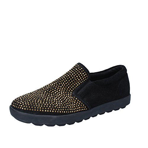Suede Slip 41 EU Black Liu on Jo Womens p0acApnz6