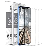 Purity Screen Protector for Apple iPhone XR - 3 Pack (w/Installation Frame) Tempered Glass Screen Protector Compatible iPhone XR (3 Pack) [Anti-Scratch] [Fit with Most Cases]