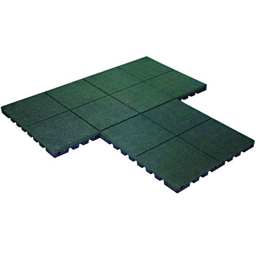 Kidwise Playfall Playground Safety Surfacing Green Package