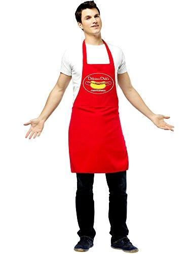 Hot Dog Vendor Dirty Apron Costume