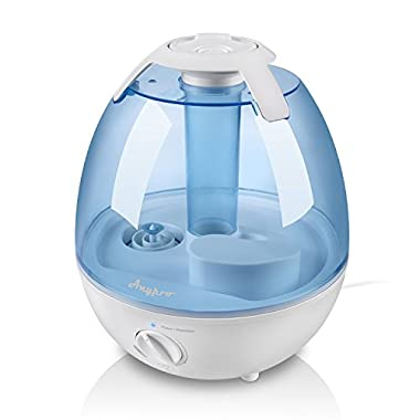Anypro 3.5L Cool Mist Humidifier ( 36+ Hours Running) Anti-mold Ultrasonic Steam Vaporizer, Super Quiet Operation