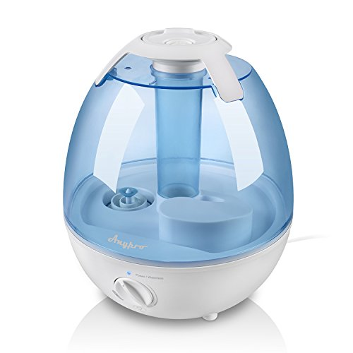 Ultrasonic Cool Mist Humidifier, Anypro 3.5L