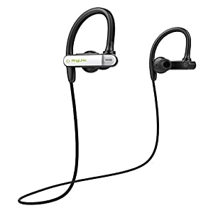 Bluetooth Headphones, AngLink V4.1 Wireless Earphones In-Ear Sports Earbuds Noise Cancelling Headsets with Mic for Running Workout Jogging Gym iPhone Andriod (apt-X, Noise Cancellation CVC 6.0 )