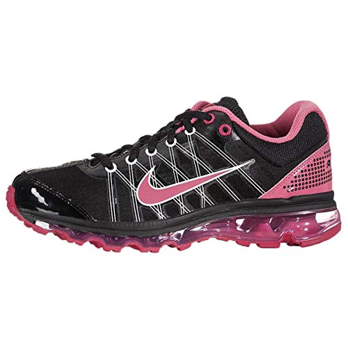 Nike Air Max 2009 (GS) Girls Running Shoes Black/Spark-Light Voltage-Cherry 400152-003-5 (Women 2009 Nike For Air Max)