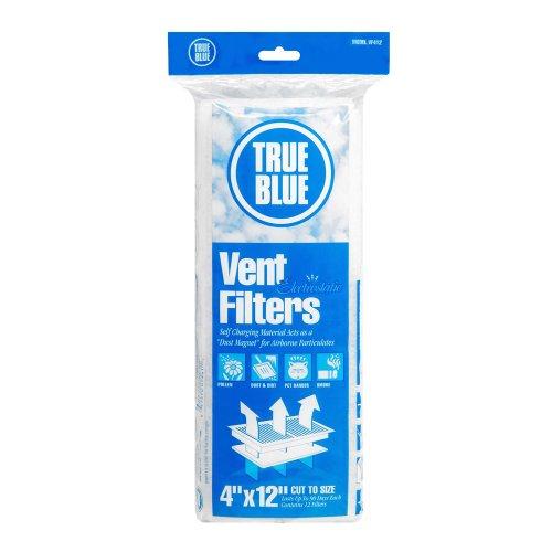 True Blue Electrostatic Register Vent Filter, 4x12 (Heating Vent Filter)