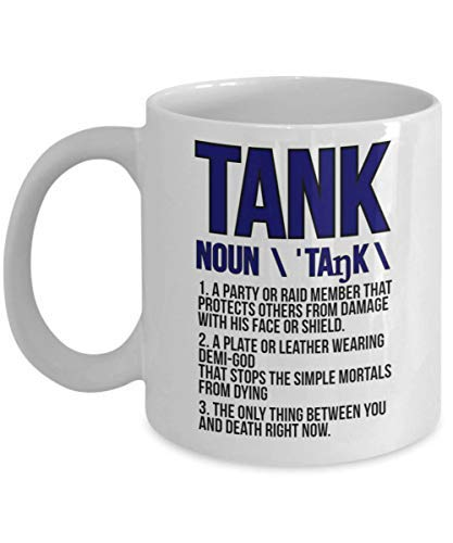 BeauMUG Wow Mug Tank Mug Funny WoW Mug World Of Warcraft Tank Funny MMO Mugs WoW MMO Gift Funny Gaming Mugs Warcraft Mug Warcraft Gift no.655137