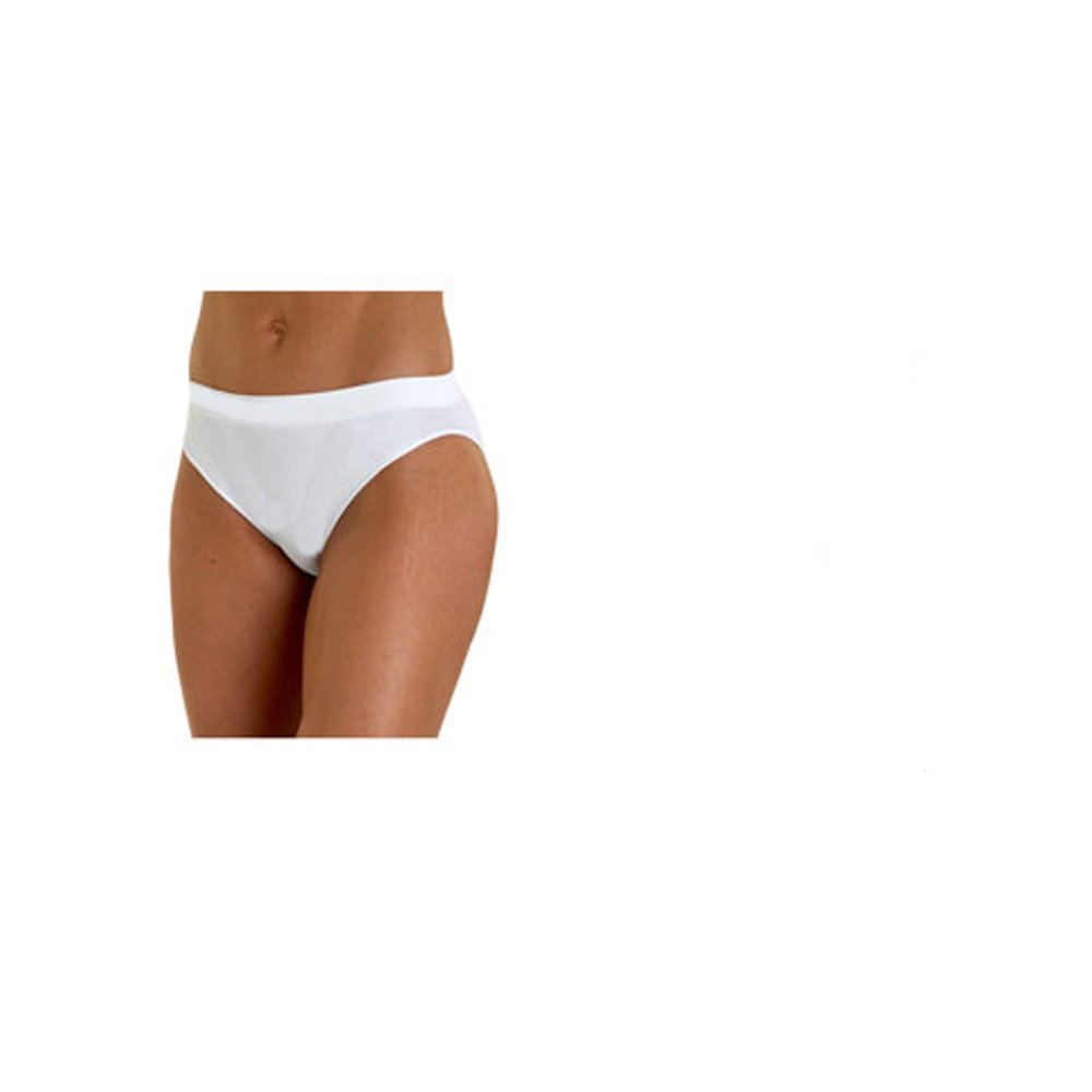 More Mile Rio Performance Seamless Ladies Sports Briefs - White