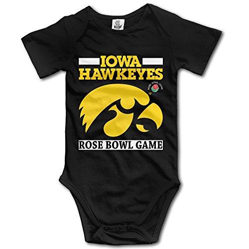 Ruby Lane Jewelry (CYSKA Iowa Hawkeyes 2016 Rose Bowl Short Sleeve Romper Playsuit For 6-24 Months Boys & Girls Size 12 Months)