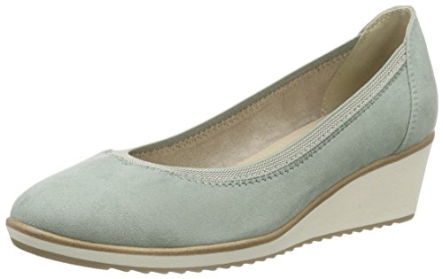 Marco Tozzi 22306 - Tacones Mujer Verde - Grün (MINT 768)