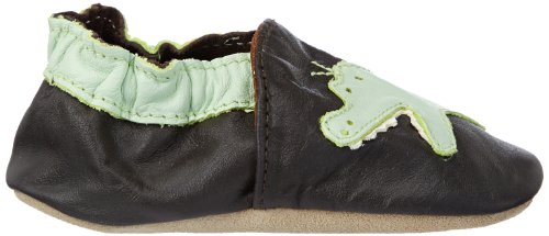 Jack & Lily Originals Crocodile Brown - Zapatillas de piel super divertidas y coloreadas