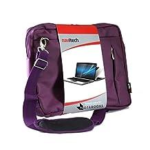 "Navitech Purple Laptop / Notebook / Ultrabook Case / Bag For The ASUS ZENBOOK UX305 13.3"" / ASUS ZENBOOK UX303LA 13.3"" / ASUS ZENBOOK UX301LA 13.3"""