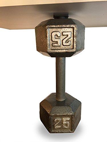 Gun Magnet w/ Adhesive Backing   Car Holster   Bedside Holster   Steering Wheel Gun Holster   Under The Desk Pistol Holster   Gun Holsters for Cars   Vehicle Gun Mount   Pistol Holster in Car