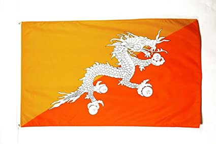 Amazon com : AZ FLAG Bhutan Flag 3' x 5' - Bhutanese Flags