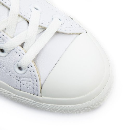 Converse Ctas Mono Ox Cuir, sneakers da unisex adulto Bianca