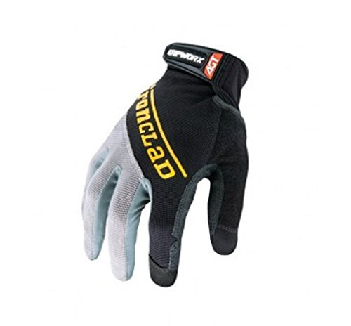 Promax Series (Ironclad BGW-04-L Gripworx Series Gloves, Black, Large)