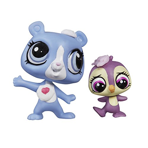 Angel Littlest Doll (Littlest Pet Shop Pet Pawsabilities Tundra Marchand & Flip Flurry)