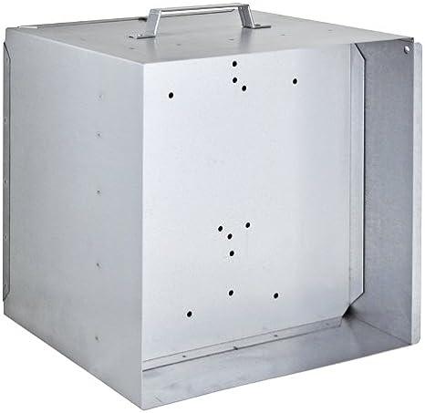 VOSS.farming Caja metálica para batería de 12 V y Pastor eléctrico: Amazon.es: Jardín