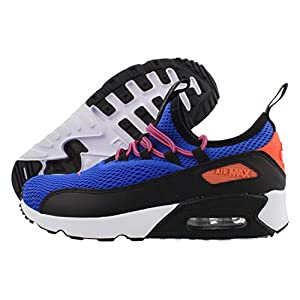 Best Epic Trends 41EmjlqkRzL._SS300_ Nike Air Max 90 E2 Boys Shoes Size 6.5, Color: Racer Blue/Total Crimson/Black