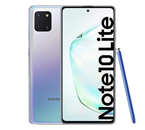 Samsung Galaxy Note 10 Lite – Smartphone de 6.7″ FHD+ (4G, Dual SIM, 6GB RAM, 128GB ROM, cámara trasera 12MP(W)+12MP(UW)+12MP, cámara frontal 32MP, Octacore Exynos 9810), Aura Glow [Versión española]