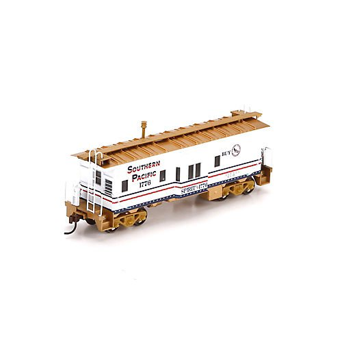 HO RTR Bay Window Caboose, SP/Bicentennial #1776 ATH74665 - Athearn Ready To Roll