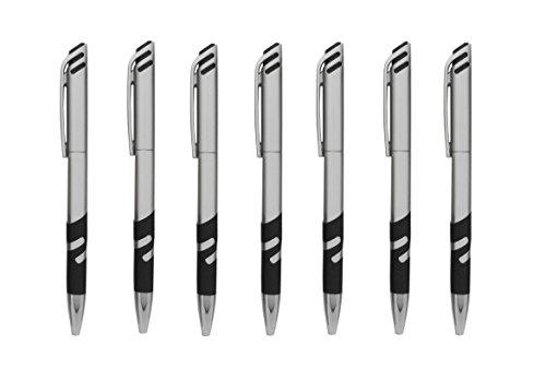 (Impex 022 Twist Style Retractable Pen with Precision Grip (Wholesale Bulk Lot of 50pcs))