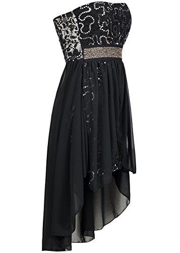 Damen kleid vokuhila