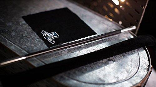 Professionals Magic Wand EbonySilver Tip by Murphys Magic Supplies Inc Trick