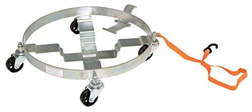 Vestil Multi-Purpose Tilting Drum Dolly 1200 Lb -  DRUM-QUAD-C-TLT