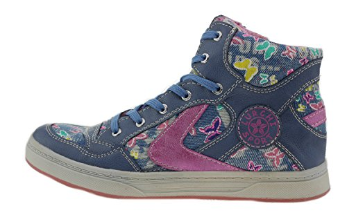 Jeans Fille Bleu Baskets pour Lurchi Pink Pink Jeans Ex6Ywddtq