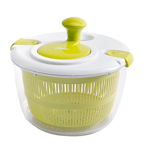 Oster Gadgets 92106.03 Kitchen Artistry Salad Spinner, Lime Green by Oster