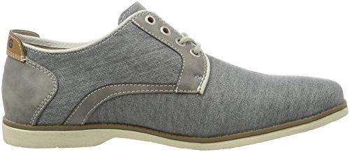 Mustang 4089-303, Zapatos de Cordones Derby para Hombre Gris (2 Grau)