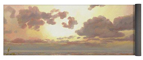 Pixels Yoga Mat w/ Bag ''Alba Nella Palude'' by Pixels