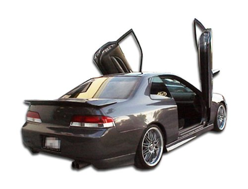 Duraflex ED-LOY-343 Type M Rear Add On Bumper Extensions - 2 Piece Body Kit - Compatible For Honda Prelude 1997-2001 ()