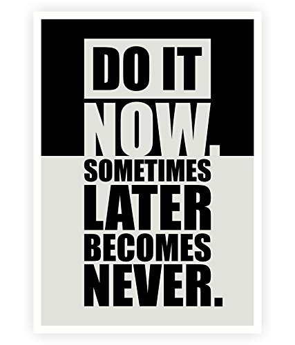 Amazon.com: Do it now Inspirational Gimnasio Citas de ...