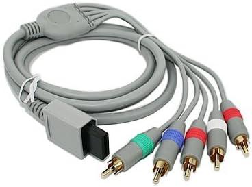ACTECOM Componente de TV de alta definición Cable de audio compuesto AV cable para Nintendo Wii / Wii U: Amazon.es: Videojuegos