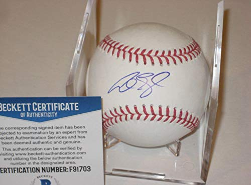 Autographed Alex Gordon Baseball - Official w Beckett COA - Beckett Authentication - Autographed Baseballs