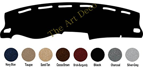 (The ArtDeco Premium Carpet Dash Cover Mat for 2013-2019 Nissan Sentra Dash Cover (Black))