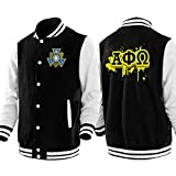 Alpha Phi Omega Male Adult Baseball Jacket