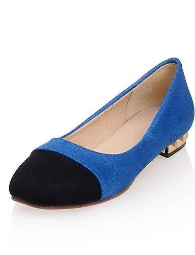 Planos azul Zapatos 5 Y Oficina Uk8 us11 Morado Eu43 Cn43 Mujer Eu42 5 Plano Tac¨®n Rosa Punta Exterior Pink Zq 5 Trabajo De us10 Uk8 Casual Semicuero Cn45 Uk9 Pink 5 Cuadrada x6dw0A6qv
