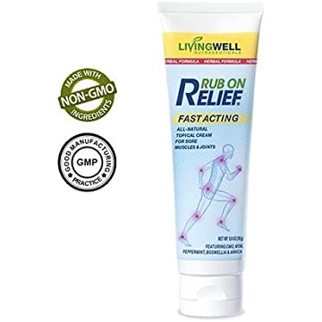 reliable Rub on Relief  3 oz  - Topical Herbal Cream